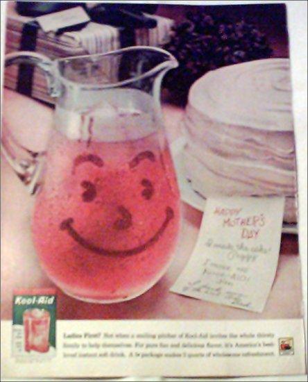 1961 Cherry Kool-Aid ad