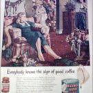 1951 Maxwell House Coffee ad
