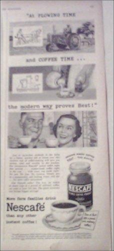 1951 Nescafe Coffee ad