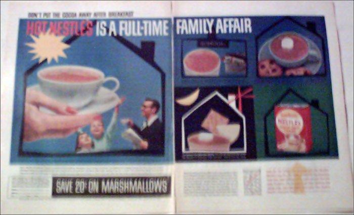 1957 Nestle's Cocoa ad