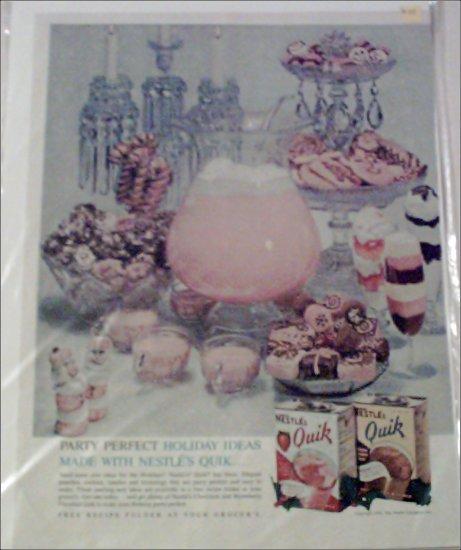 1961 Nestle's Quik ad