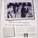 1935 Sanka Coffee ad