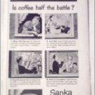 1951 Sanka Coffee ad #1