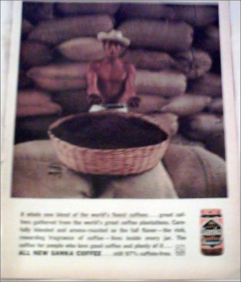 1961 Sanka Coffee ad #2