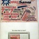 1963 Snow Crop Samoa Orange Juice ad