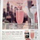 1959 Tang Orange Juice ad
