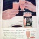 1960 Tang Orange Juice ad #1