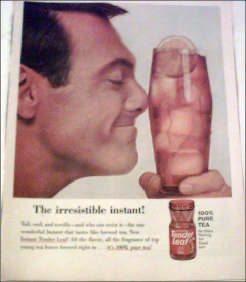 1963 Tender Leaf Tea ad #3