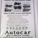 1924 Autocar Truck ad #1