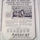 1925 Autocar Truck ad