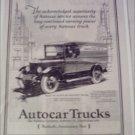 1927 Autocar Truck ad #1