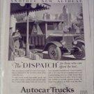1928 Autocar Truck ad