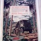 WW II Autocar Army Tanker Truck ad