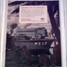 WW II Autocar Navy Tanker Truck ad
