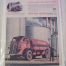 1944 Autocar Tanker Truck ad