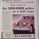 1940 Diamond T Truck ad