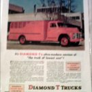 1950 Diamond T Truck ad