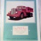 1940 Diamond T Dump Truck ad