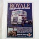 1973 Diamond Reo Royale Truck ad