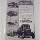 1918 Federal Truck ad #1