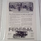 1918 Federal Truck ad #3