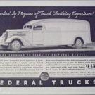 1935 Federal Truck ad