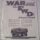 1918 FWD Truck ad
