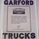 1920 Garford Truck ad