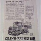 1919 Gramm Bernstein Truck ad #2