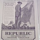 1920 Republic Truck ad #1