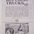1920 Republic Truck ad #2