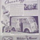 1940 White Horse Delivery Van ad #2