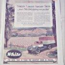 1941 White Tractor Trailer Truck ad