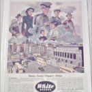 1946 White Bus ad
