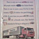 1963 White Tractor Trailer ad