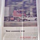 1966 White Tractor Trailer ad