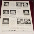 1954 Westclox ad