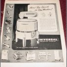 1948 Universal 2 Speed Wringer Washer ad