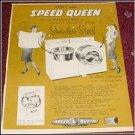 Speed Queen Washer Dryer 50th Anniversary ad