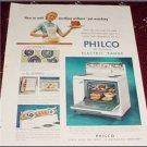 1956 Philco Electric Range ad