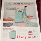 1960 Hotpoint Washer Dryer ad
