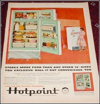 Hotpoint Refrigerator ad