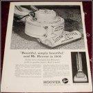 1961 Hoover Vacum Cleaner ad