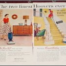 1955 Hoover Deluxe 63 & Constellation Vacum Cleaner ad