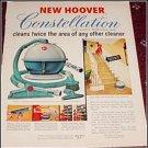 1955 Hoover Constellation Vacum Cleaner ad