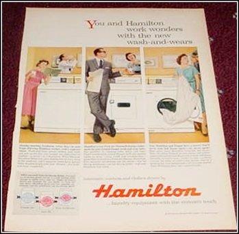 1959 Hamilton Washer Dryer ad