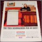 1960 GE Dishwasher ad
