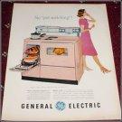 1960 GE Model J 408 Electric Range ad