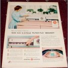 1959 GE 5 Cycle Filter Flo Washer ad #1
