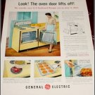 1958 GE Keyboard Range ad